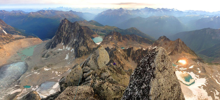 Bugaboo Spire NE Ridge Climb