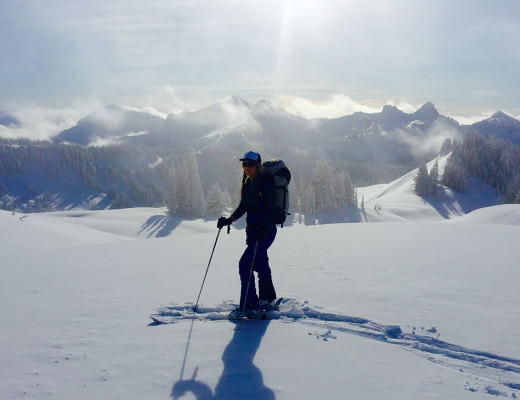 Mt. Rainier Backcountry Skiing
