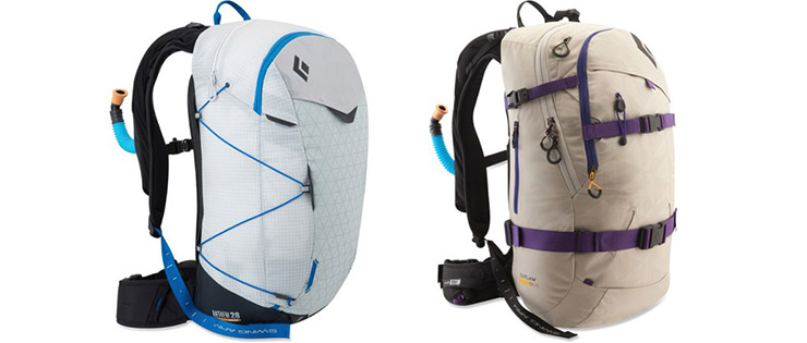 avalanche avalung backpacks