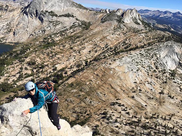 Rock Climbing Cathedral Peak
