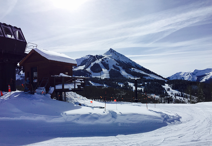 Skiing Crested Butte Ski Resort