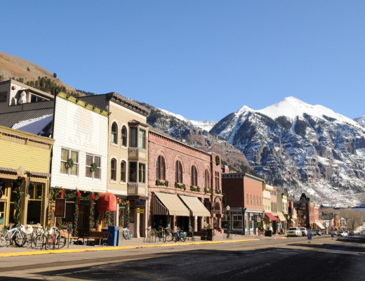 Telluride CO Winter