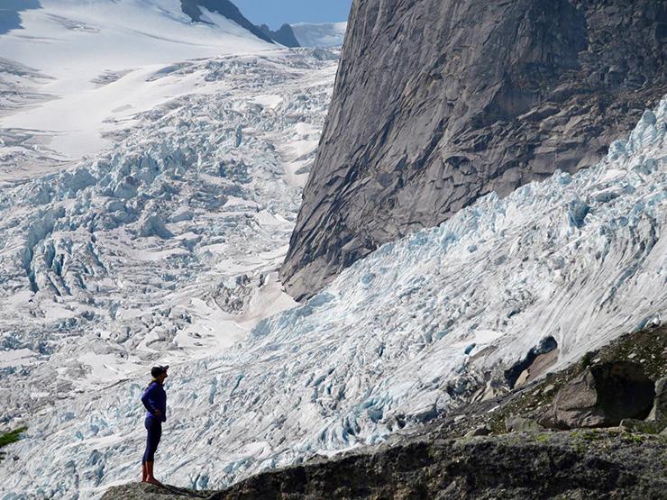 Bugaboo Provincial Park - glacier