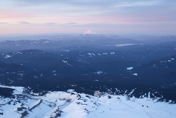 View from Mt. Hood