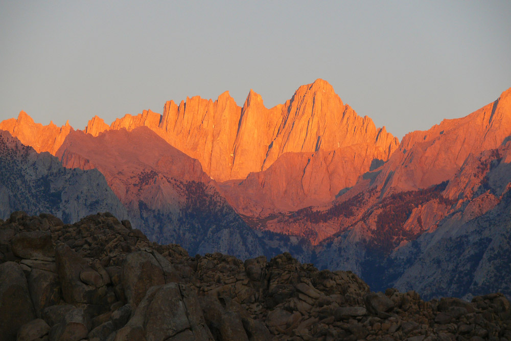 Mt. Whitney - Sierra Nevadas