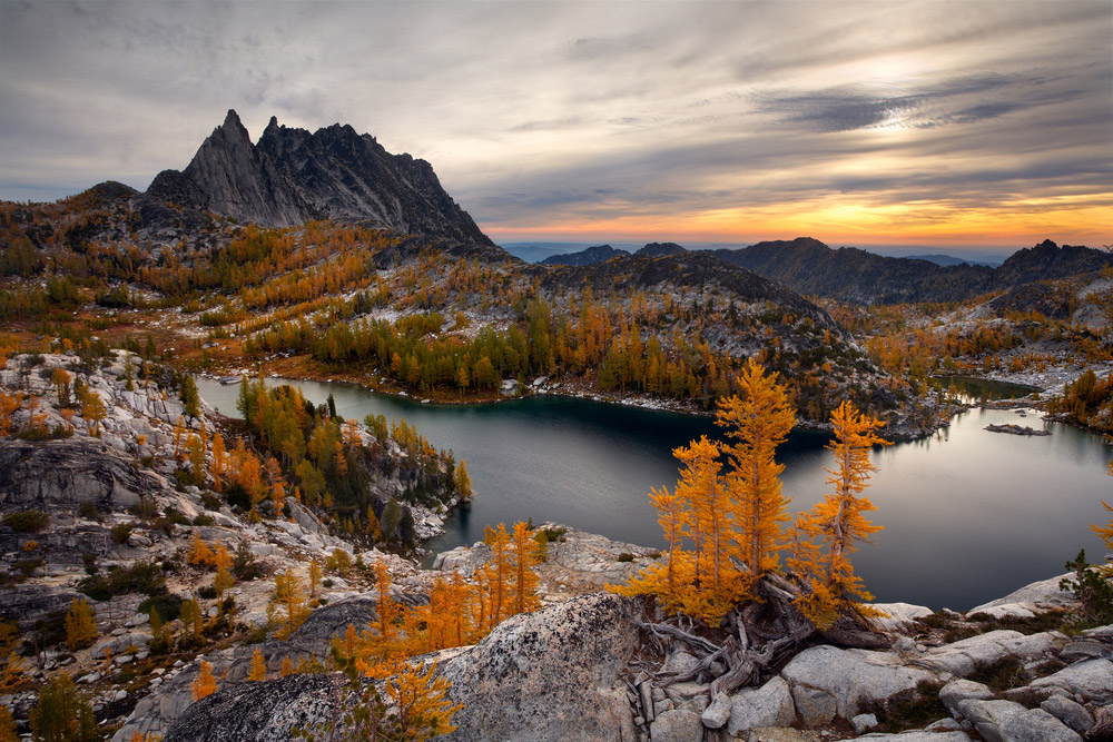 Enchantments Hiking Washington, Perfection Lake
