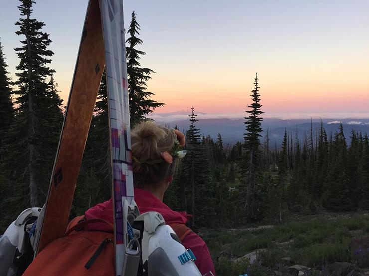 Mt. Adams Sunrise